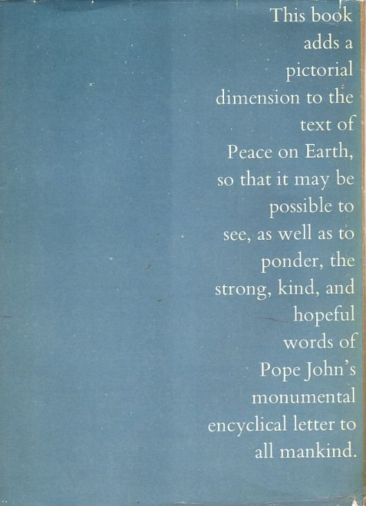 peace on earth backcover