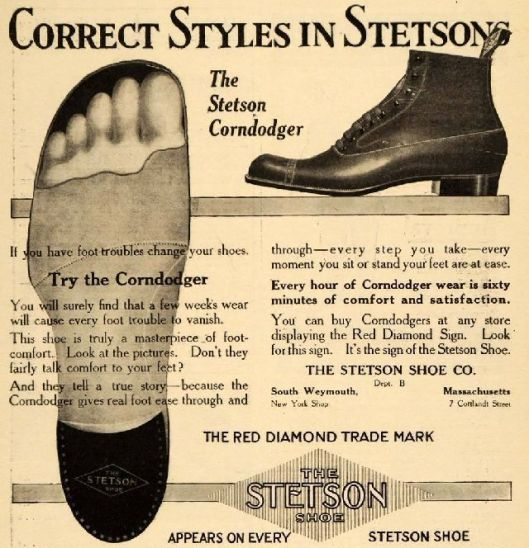 stetson shoe