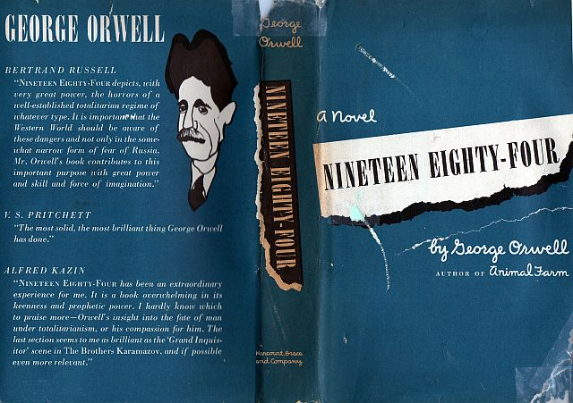 the structure of the novel 1984 George orwell's sci-fi classic is more popular than ever  power structures like  the ministries of truth, peace, plenty, and love—each of which.