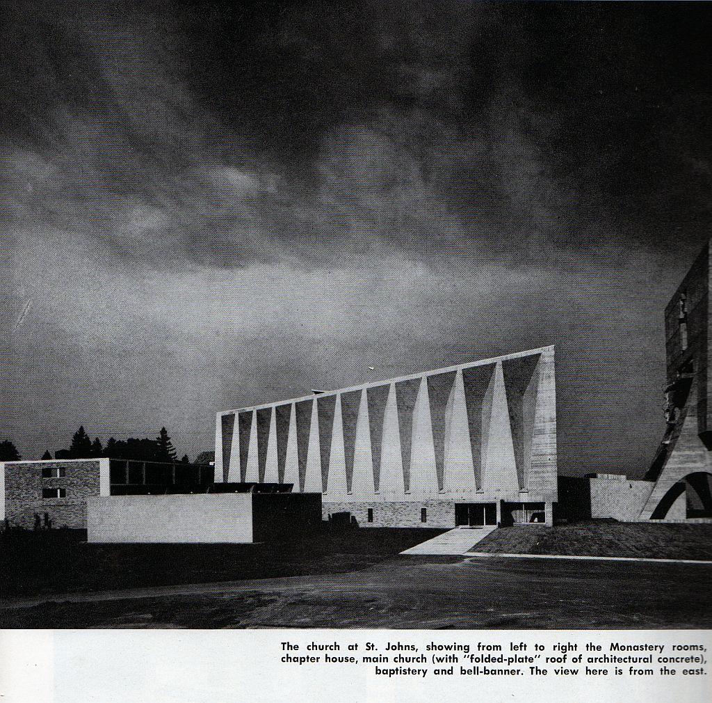 Faith and architecture marcel breuer twicemodern - Marcel breuer architecture ...