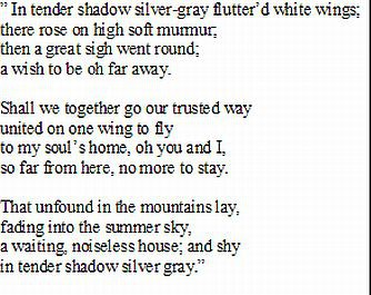 silver poem